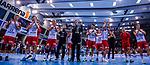 Freude bei den EULEN nach verdientem Unentschieden gegen den TVB beim Spiel in der Handball Bundesliga, TVB 1898 Stuttgart - Die Eulen Ludwigshafen.<br /> <br /> Foto &copy; PIX-Sportfotos *** Foto ist honorarpflichtig! *** Auf Anfrage in hoeherer Qualitaet/Aufloesung. Belegexemplar erbeten. Veroeffentlichung ausschliesslich fuer journalistisch-publizistische Zwecke. For editorial use only.