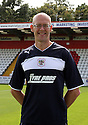 Neil Withington, fitness coach. Stevenage FC photoshoot -  Lamex Stadium, Stevenage . - 16th August, 2012. © Kevin Coleman 2012