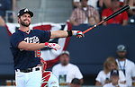 Reno Aces' Matt Davidson competes in the Triple-A All Star Home Run Derby in Reno, Nev., on Monday, July 15, 2013. Davidson hit a total of 10 home runs to win the event.<br /> Photo by Cathleen Allison