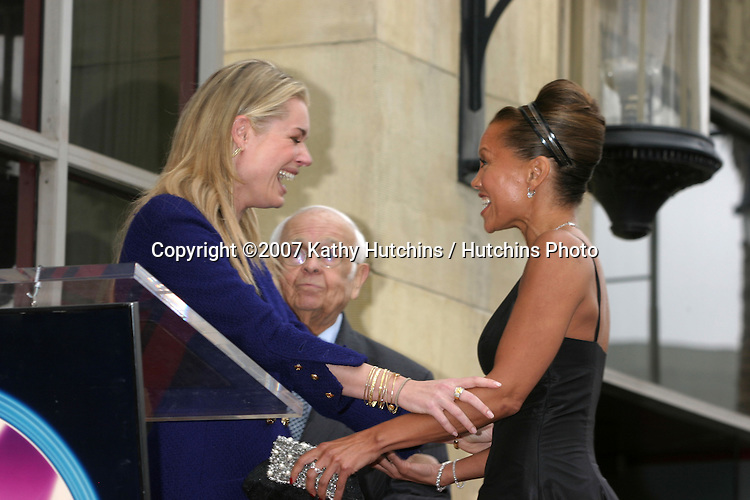Rebecca Romijn & Vanessa L. Williams.Vanessa Williams receives a star on the Hollywood Walk of Fame.Los Angeles, CA.March 19, 2007.©2007 Kathy Hutchins / Hutchins Photo...