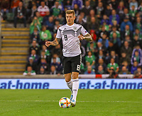 Toni Kroos (Deutschland Germany) - 09.09.2019: Nordirland vs. Deutschland, Windsor Park Belfast, EM-Qualifikation DISCLAIMER: DFB regulations prohibit any use of photographs as image sequences and/or quasi-video.