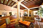 Lobby of the Hotel Carmel in Santa Monica, CA