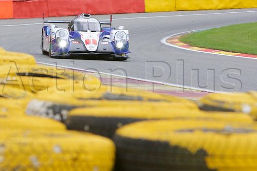 01.05.2015.  Spa-Francorchamps, Belgium. World Endurance Championship Round 2 Qualifying. Toyota Racing LMP1 Hybrid Toyota TS040 driven by Anthony Davidson and Sebastien Buemi.