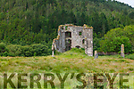 Glenbeigh Castle on Monday on the 100 year anniversary of the burning of Glenbeigh Castle.