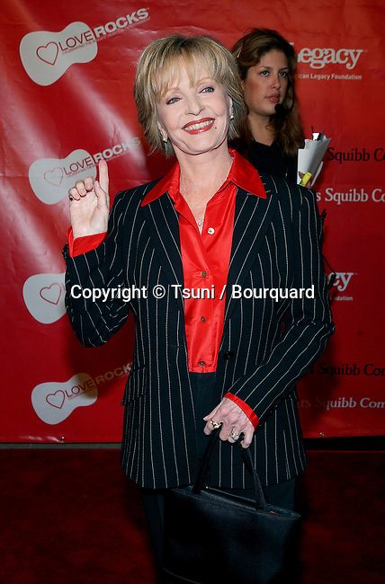"Florence Henderson arriving at the First Annual Entertainment Industry Foundation "" Love Rocks "". Concert  to Celebrate the biggest Heart in Entertainment. February 14, 2002.            -            HendersonFlorence05.jpg"