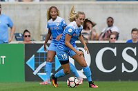 Bridgeview, IL - Saturday June 17, 2017: Summer Green during a regular season National Women's Soccer League (NWSL) match between the Chicago Red Stars and the Washington Spirit at Toyota Park. The match ended in a 1-1 tie.