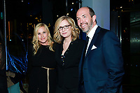 "NEW YORK - NOVEMBER 14: Patricia Arquette, Bonnie Hunt and Eric Lange attend the party following the premiere of Showtime's limited series ""Escape at Dannemora"" at Alice Tully Hall in Lincoln Center on November 14, 2018 in New York City. (Photo by Jason Mendez/Showtime/PictureGroup)"