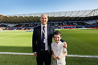 during the Sky Bet Championship match between Swansea City and Cardiff City at the Liberty Stadium, Swansea, Wales, UK. Sunday 27 October 2019