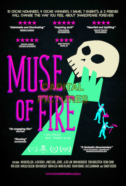POSTER ART<br /> in Muse of Fire (2013) <br /> *Filmstill - Editorial Use Only*<br /> CAP/NFS<br /> Image supplied by Capital Pictures