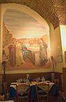 Interior, Dante Restaurant, Florence, Tuscany, Italy