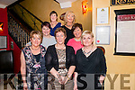 Majella Coughlan from Tipperary celebrated her 50th birthday with her Kerry friends and family in the Lord Kenmare restaurant, Killarney last Saturday night. Pictured front L-R Helen Doyle, Magellan Coughlan, Lylia Warren, back L-R Patricia Coughlan, Catherine Carroll, Nora Mullane and Breda O'Donoghue.