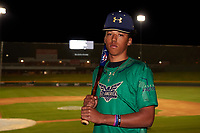 DJ Cardinal during the Under Armour All-America Tournament powered by Baseball Factory on January 17, 2020 at Sloan Park in Mesa, Arizona.  (Zachary Lucy/Four Seam Images)