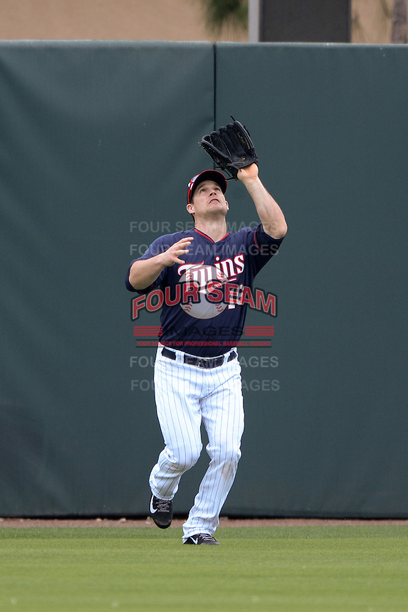 Outfielder Josh Willingham (16) of the Minnesota Twins during practice on February 25, 2014 at Hammond Stadium in Fort Myers, Florida.  (Mike Janes Photography)
