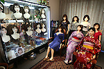 June 23, 2010- Tokyo, Japan - Orient Industy's Love Dolls are shown in a variety of costumes at the company's showroom in the Ueno district in Tokyo, Japan, on June 23, 2010. Orient Industry is a 33-year-old company which is number one in Japan for producing over 1,000 Love Dolls annually, ranging in price from ¥90,000 to ¥700,000.