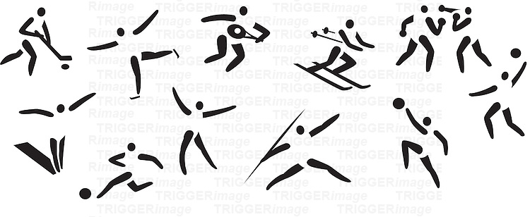 Conceptual images of sports