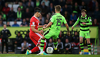 George Williams of MK Dons in action during Forest Green Rovers vs MK Dons, Caraboa Cup Football at The New Lawn on 8th August 2017