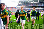 Colm Cooper and Tommy Walsh Kerry players after defeating Tyrone in the All Ireland Semi Final at Croke Park on Sunday.