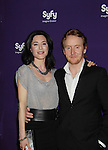 Defiance's Jaime Murray & Tony Curran at the Syfy Upfront 2012 on April 24, 2012 at the American Museum of Natural History, New York City  (Photo by Sue Coflin/Max Photos)