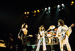 Queen 1975 Freddie Mercury, John Deacon, Roger Taylor and Brian May