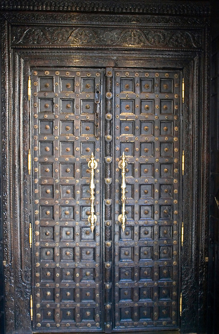 Entry Door, RATN Restaurant, Paris, France, Europe