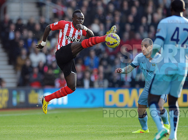 Sadio Mane of Southampton<br /> - Barclays Premier League - Southampton vs Manchester City - St Mary's Stadium - Southampton - England - 30th November 2014 - Pic Robin Parker/Sportimage