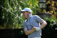 Gavin Moynihan (IRL) during the third round of the Kazakhstan Open presented by ERG played at Zhailjau Golf Resort, Almaty, Kazakhstan. 15/09/2018<br /> Picture: Golffile | Phil Inglis<br /> <br /> All photo usage must carry mandatory copyright credit (&copy; Golffile | Phil Inglis)