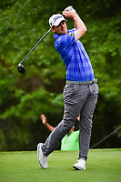 Bernd Wiesberger (AUT) watches his tee shot on 2 during round 4 of the Shell Houston Open, Golf Club of Houston, Houston, Texas, USA. 4/2/2017.<br /> Picture: Golffile | Ken Murray<br /> <br /> <br /> All photo usage must carry mandatory copyright credit (&copy; Golffile | Ken Murray)