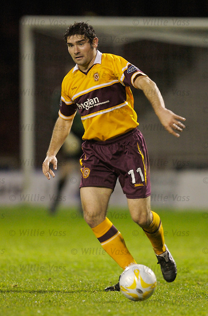 Jim Paterson, Motherwell.stock season 2006-2007.pic willie vass