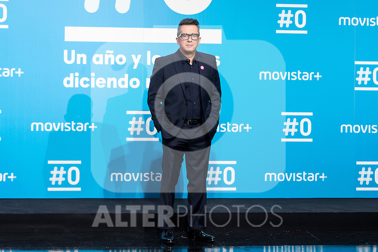 Andreu Buenafuente on the first anniversary of broadcast of #0 television network of the Movistar + group in Madrid, Spain. January 30th 2017. (ALTERPHOTOS/Rodrigo Jimenez)