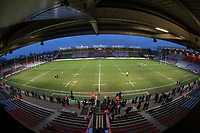 A general view ofThe Stoop, home of Harlequins Rugby<br /> <br /> Photographer Bob Bradford/CameraSport<br /> <br /> European Rugby Challenge Cup - Harlequins v Wasps - Sunday 13th January 2018 - Twickenham Stoop - London<br /> <br /> World Copyright &copy; 2018 CameraSport. All rights reserved. 43 Linden Ave. Countesthorpe. Leicester. England. LE8 5PG - Tel: +44 (0) 116 277 4147 - admin@camerasport.com - www.camerasport.com