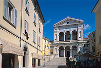 Italien, Toskana, Massa, Dom S. Pietro + Francesco