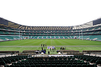"A general view of Twickenham Stadium. Bath Rugby Photocall for ""The Clash"" on March 16, 2017 at Twickenham Stadium in London, England. Photo by: Patrick Khachfe / Onside Images"