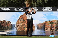 Michael Long (NZL) in action on the 12th during Round 2 of the ISPS Handa World Super 6 Perth at Lake Karrinyup Country Club on the Friday 9th February 2018.<br /> Picture:  Thos Caffrey / www.golffile.ie<br /> <br /> All photo usage must carry mandatory copyright credit (&copy; Golffile | Thos Caffrey)