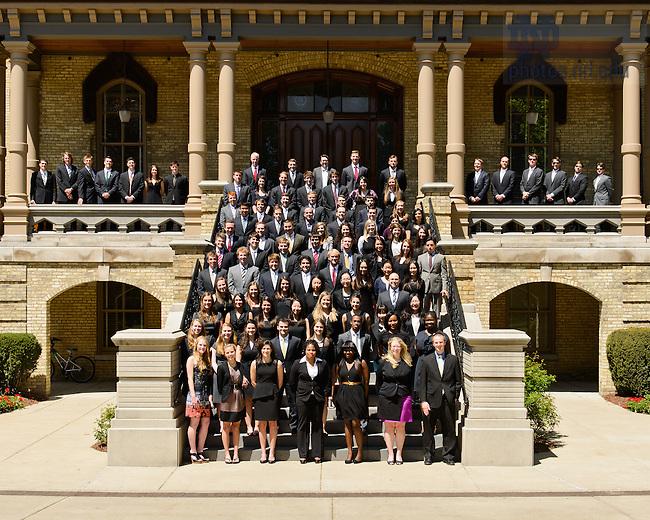May 13, 2013; MSA graduates..Photo by Matt Cashore/University of Notre Dame