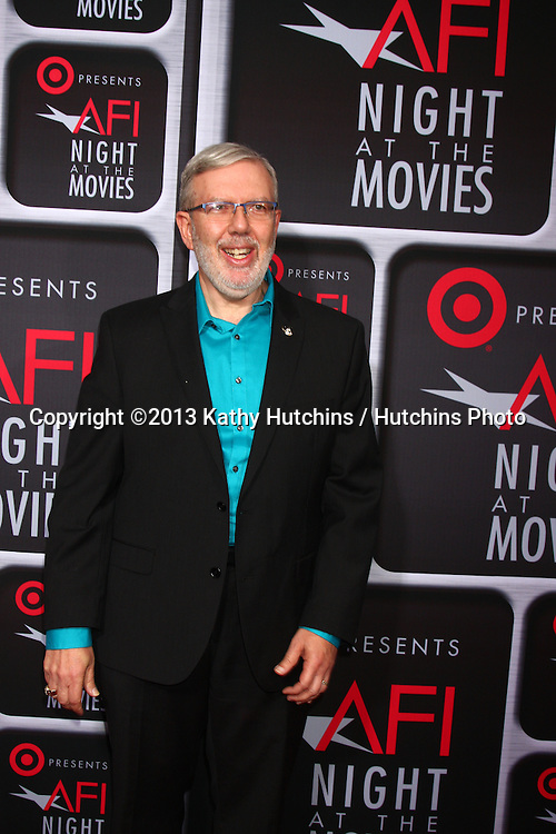 LOS ANGELES - APR 24:  Leonard Maltin arrives at the AFI Night at the Movies 2013 at the ArcLight Hollywood Theaters on April 24, 2013 in Los Angeles, CA