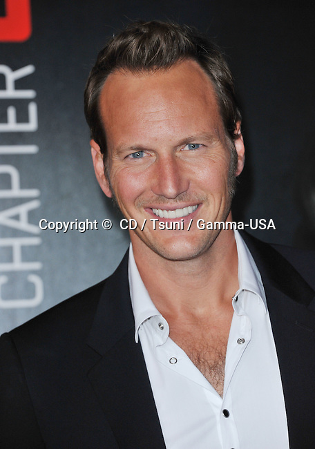Patrick Wilson at the Insidious Chapter 2 Premiere at the Universal Theatre inn Los Angeles.