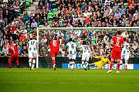 GRONINGEN - Voetbal, FC Groningen - FC Twente, Eredivisie, seizoen 2019-2020, 10-08-2019, Aitor benut de tweede strafschop voor 0-2