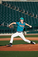 Ryan Pettys (12) of Arnold High School in Panama City Beach, Florida during the Baseball Factory All-America Pre-Season Tournament, powered by Under Armour, on January 13, 2018 at Sloan Park Complex in Mesa, Arizona.  (Zachary Lucy/Four Seam Images)