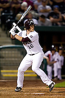 Conor Smith (16) of the Missouri State Bears at bat during a game against the Purdue Boilermakers at Hammons Field on March 13, 2012 in Springfield, Missouri. (David Welker / Four Seam Images)