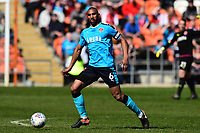 Fleetwood Town's Nathan Pond in action <br /> <br /> Photographer Richard Martin-Roberts/CameraSport<br /> <br /> The EFL Sky Bet League One - Blackpool v Fleetwood Town - Saturday 14th April 2018 - Bloomfield Road - Blackpool<br /> <br /> World Copyright &not;&copy; 2018 CameraSport. All rights reserved. 43 Linden Ave. Countesthorpe. Leicester. England. LE8 5PG - Tel: +44 (0) 116 277 4147 - admin@camerasport.com - www.camerasport.com