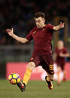 Calcio, ottavi di finale di Tim Cup: Roma vs Sampdoria. Roma, stadio Olimpico, 19 gennaio 2017.<br /> Roma&rsquo;s Stephan El Shaarawy in action during the Italian Cup round of 16 football match between Roma and Sampdoria at Rome's Olympic stadium, 19 January 2017.<br /> UPDATE IMAGES PRESS/Isabella Bonotto