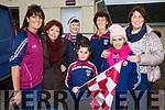 Supporting the home side on Saturday in Dromid were front l-r; Ciara O'Connor, Tara O'Sullivan, back l-r; Debbie O'Donoghue, Patria O'Shea, Mary Anne Casey, Noreen O'Connor & Breda O'Sullivan.