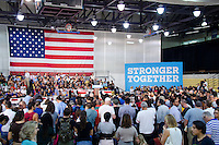 Ambiance at Hillary Clinton Miami Rally in Miami, FL on October 11, 2016