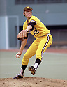 CIRCA 1978:  Bert Blyleven #22 of the Pittsburgh Pirates pitching during a game from his 1978 season with the Pittsburgh Pirates.  Bert Blyleven played for 22 years with 4 different, was a 2-time All-Star and was inducted to the Baseball Hall of Fame in 2011.(Photo by: 1978  SportPics  )  Bert Blyleven