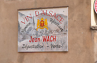 Jean Wach. Andlau, Alsace, France