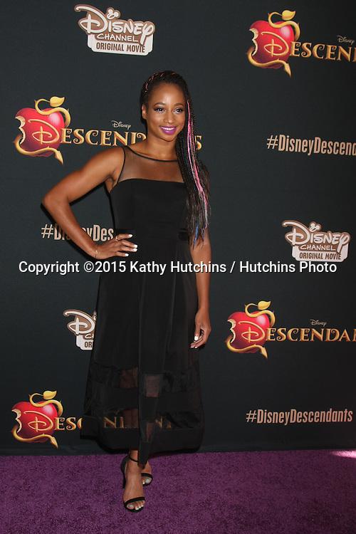 "LOS ANGELES - JUL 24:  Monique Coleman at the ""Descendants"" Premiere Screening at the Walt Disney Studios on July 24, 2015 in Burbank, CA"