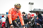Greg Van Avermaet (BEL) CCC Team at sign on before the start of the 105th edition of Li&egrave;ge-Bastogne-Li&egrave;ge 2019, La Doyenne, running 256km from Liege to Liege, Belgium. 28th April 2019<br /> Picture: ASO/Gautier Demouveaux | Cyclefile<br /> All photos usage must carry mandatory copyright credit (&copy; Cyclefile | ASO/Gautier Demouveaux)