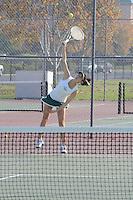 The Harker School - US - Upper School - Harker US Girls Varsity Tennis CCS Playoff Matches - photo by Robert Boucher, parent