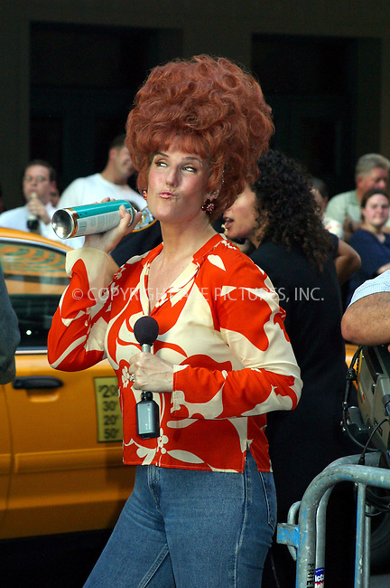 """Opening night for Broadway's newest and hottest show, """"Hairspray"""" at Neil Simon Theatre. New York, August 15, 2002. Pictured is Jill Rappaport who is """"Today Show"""" correspondent. Please byline: Alecsey Boldeskul/NY Photo Press.   ..*PAY-PER-USE*      ....NY Photo Press:  ..phone (646) 267-6913;   ..e-mail: info@nyphotopress.com"""