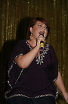 One Life To Live's Kathy Brier performs at We Love Soaps Weekend on  May 21 and May 22 2010 at Villa Roma Resort in Callicoon, New York. (Photo by Sue Coflin/Max Photos)